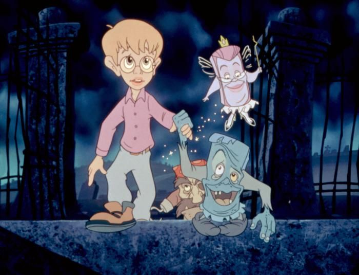 THE PAGEMASTER (1994) --- I love to see my daughter falling for an old time favorite of mine :) hehe ..