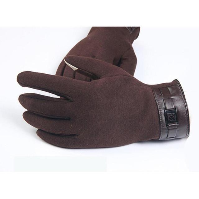 Full Finger Cashmere Smartphone Gloves