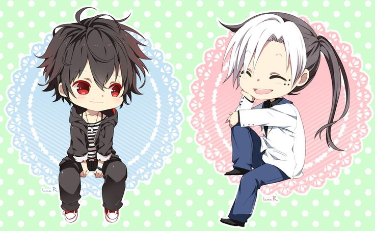 Chibi commissions for of her character Yang and 's character Taiyang Want a commission? Read my info and prices: fav.me/d3u9qkc