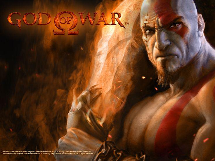 Kratos (God of War).......vengeance is sweet