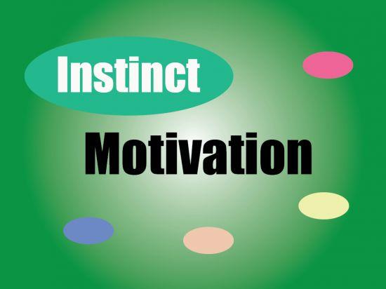 Instinct theory of motivation  http://www.PsychologyNotesHQ.com