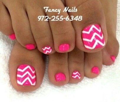 Best 25+ Hot pink toes ideas on Pinterest   Hot pink pedicure, Summer toe  designs and Toe designs - Best 25+ Hot Pink Toes Ideas On Pinterest Hot Pink Pedicure