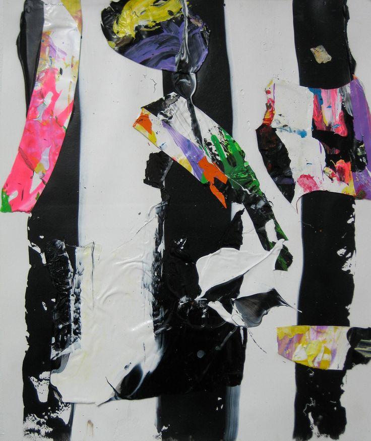"Saatchi Art Artist: robert tavani; Acrylic 2012 Painting ""Brights and Stripes"""