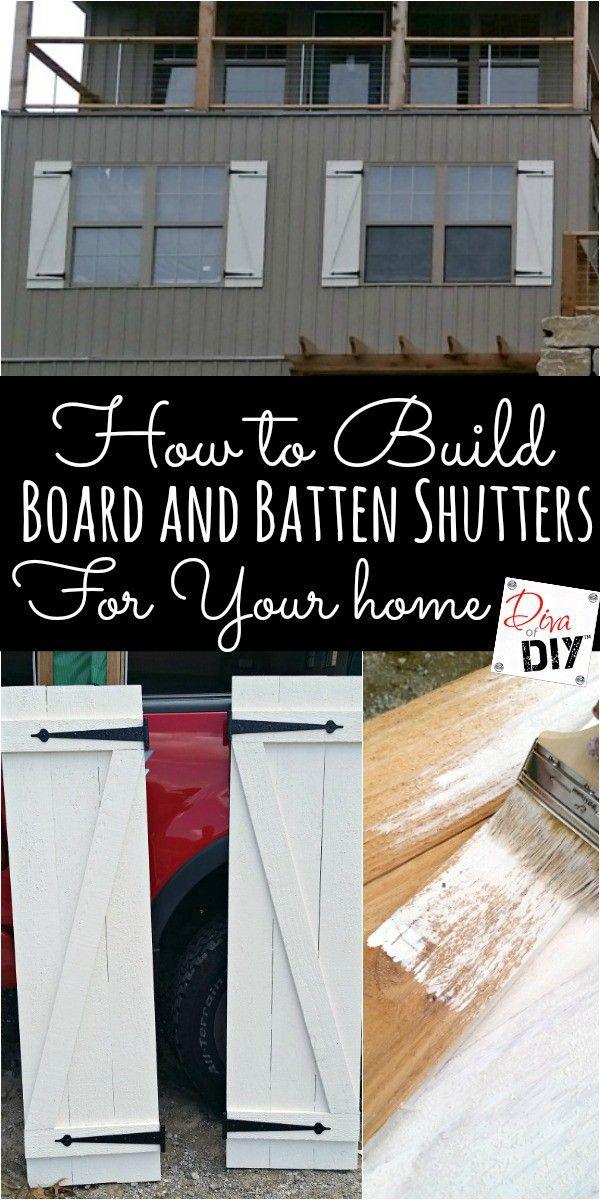 36 besten Fensterläden bauen Bilder auf Pinterest | Bauanleitung ...