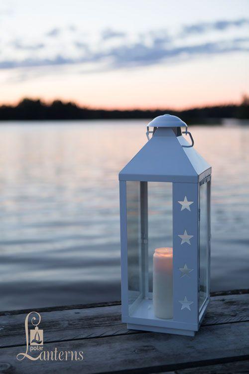 268628 4-star lyhty, 46cm ja 63cm / 4-star lantern