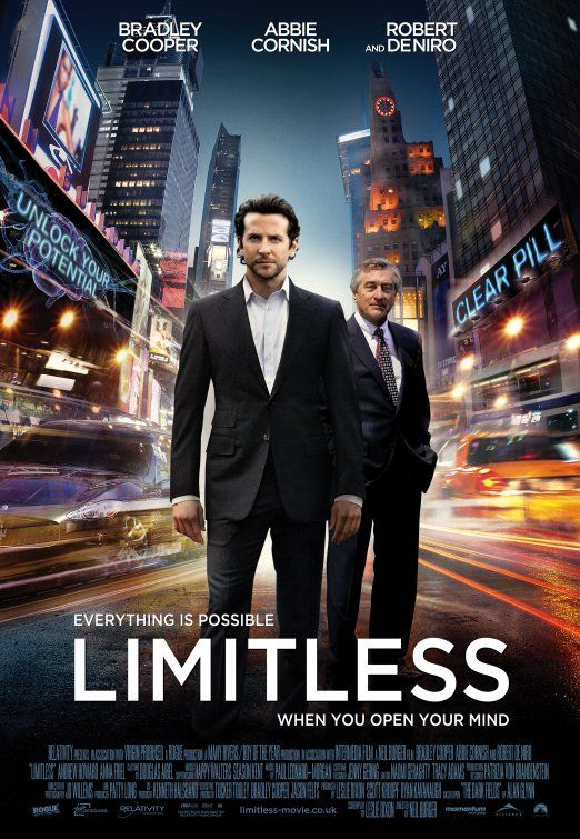 Our CEO David has wished for Limitless on DVD...wonder who'll make his wish come true.