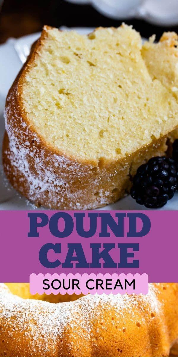 Classic Pound Cake Recipe Sour Cream Pound Cake Crazy For Crust Recipe In 2020 Sour Cream Pound Cake Cake Recipes Pound Cake