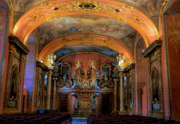布拉格克萊門特學院鏡堂  #mirrorchapel #chapel #klementinum #college #1725 #classical #concert #baroque #prague #czech #europe