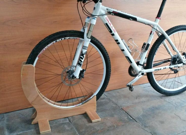 29er Specific Bike Stand Very Strong Plywood Construction Coated With A Clear Lacquer To Prevent Oil Stains Only Grips Bike Stand Bike Storage Bicycle Stand