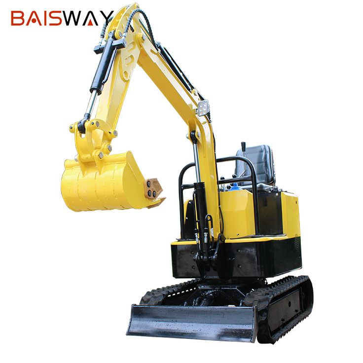 Baisway customized 12 Horsepower 1 ton tracked micro mini excavator for sale