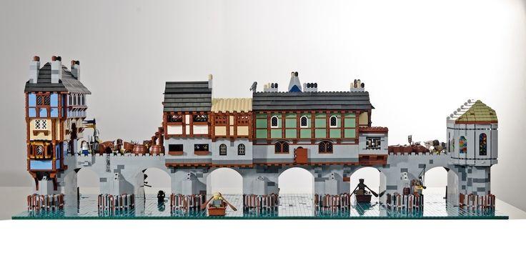 Old London Bridge en Légo