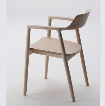 Maruni Hiroshima Arm Chair - by designer  Naoto Fukasawa.