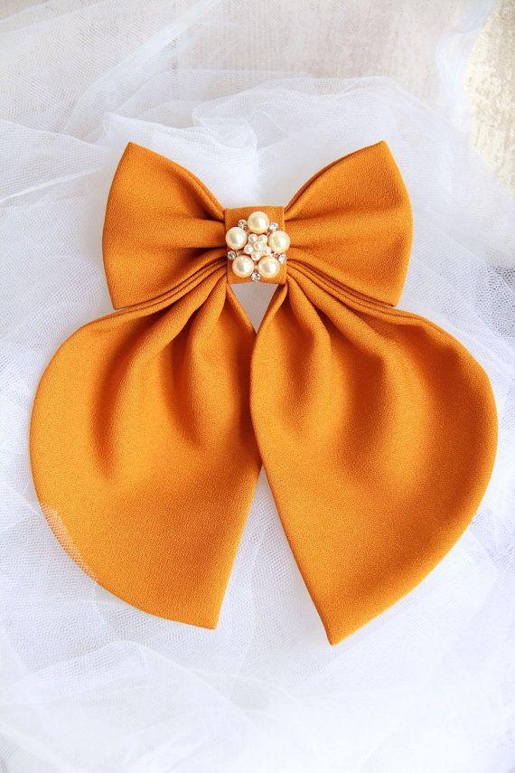 Camel Matte Women's Bow Tie Genuine New by #BowsByVaniaSzasz