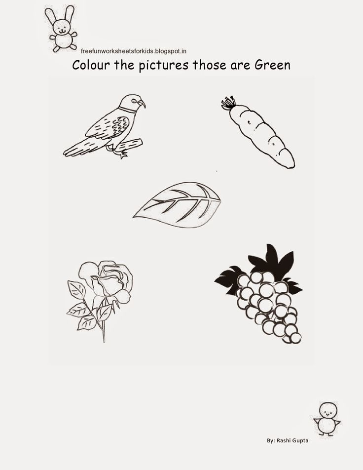 Free Fun Worksheets For Kids: Free Printable Fun Worksheets for Class Nursery - ...