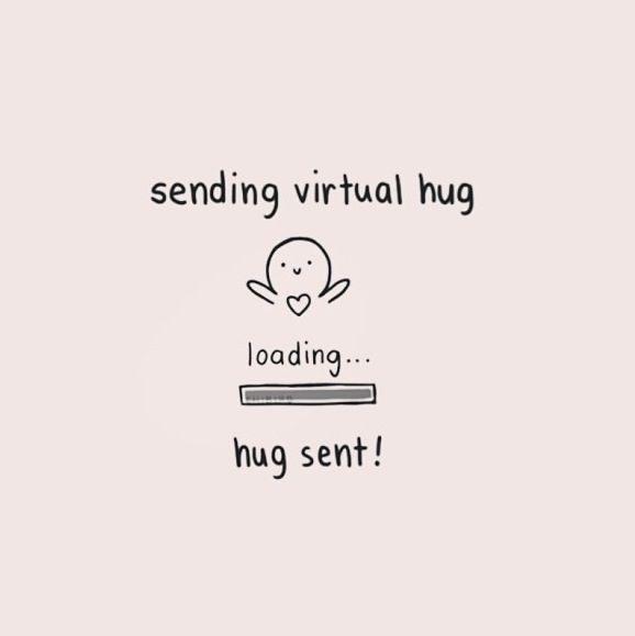 What Each Hug Means Quotes Sending virtual hug qu...