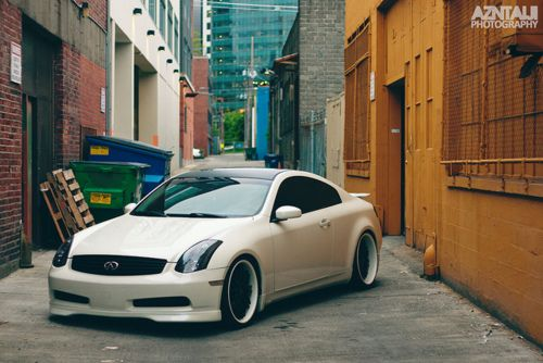 Infiniti G35 Coupe White With Images Pretty Cars Nissan