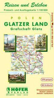 Reisen und erleben, Freizeit- und Ausflugskarte, Polen, Grafschaft Glatz: Neurode-Glatz-Habelschwerdt : 1:100 000, 2-sprachig, 55 x Bild & Text (German Edition) by Hofer Verlag. $18.06. Publisher: Hofer Verlag; 3. Aufl edition (2002)
