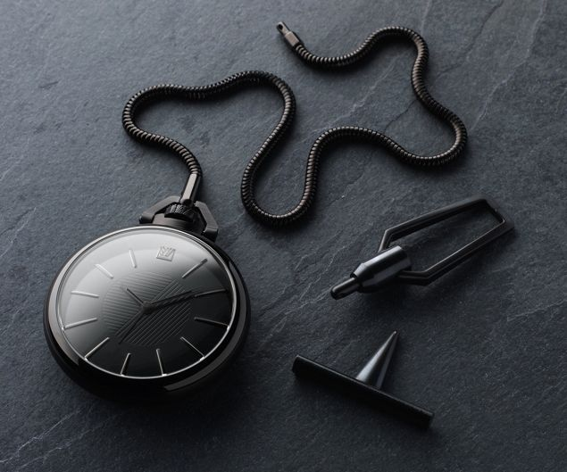 """""""Inspired by the first French Empire, & Napoleonic swagger…"""" March LA.B x Colette Phantom Pocket Watch"""