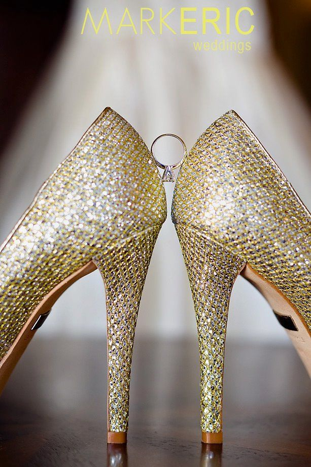 picture of ring and shoes.... Love everything about this!