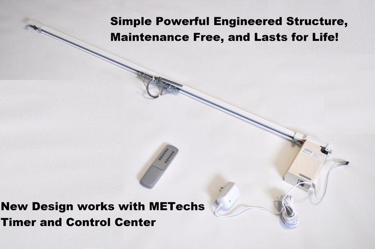 62 best metropolitan drapery hardware images on pinterest for Qmotion motorized drapery rods