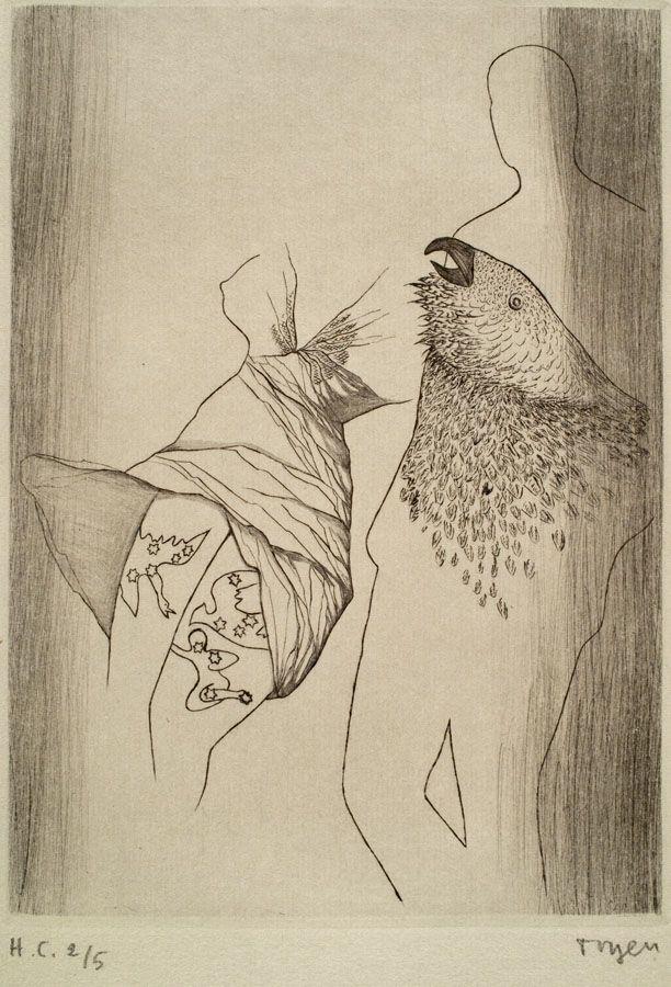 Toyen (Marie Cerminova) -Le Puits dans la tour/ Debris de reves