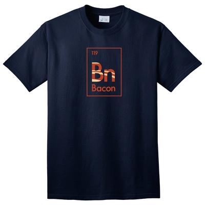Bacon Element T-Shirt - $7.99. http://www.tanga.com/deals/7112f06fd05/bacon-element-t-shirt: Like A Boss, Books,  T-Shirt, Facebook Like,  Tees Shirts, Bacon, Keep Calm, T Shirts, Funny Shirts