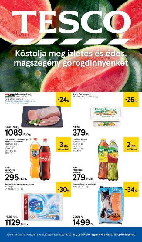 TESCO Akciós Újság 2018. 07.12-07.18-ig  Bords Eve margarin dc40e96f5c