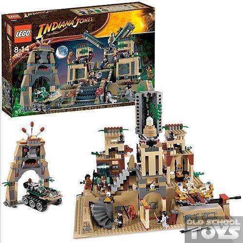 Lego 7627 Indiana Jones Temple of Akator en Doos
