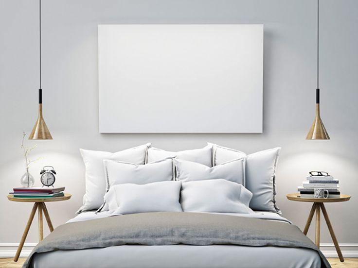 Dormir em uma cama confortável, arrumada com lençóis limpos e perfumados contribui para uma boa noite de sono.