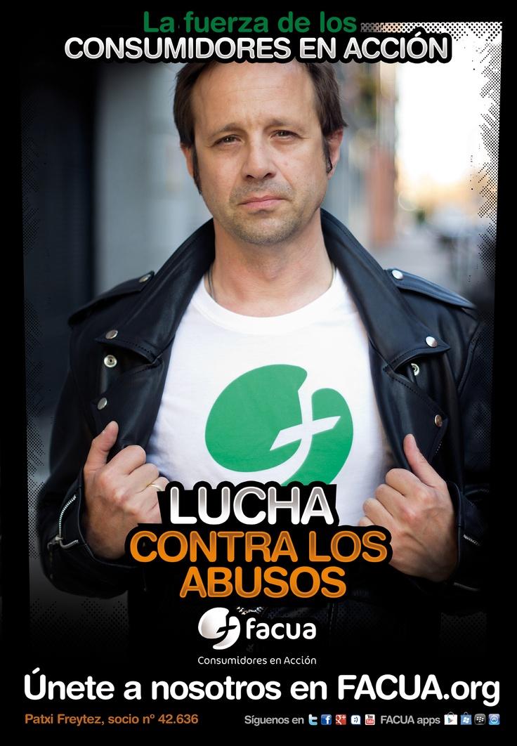 Patxi Freytez, socio de FACUA nº 42.636, llama a los consumidores a la lucha contra los abusos