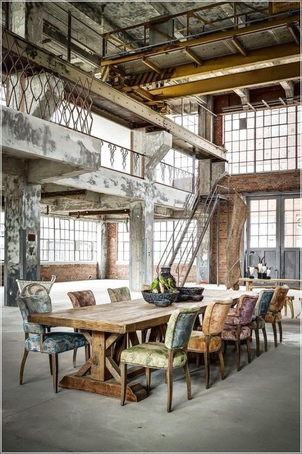 Best 25 industrial chic ideas on pinterest industrial chic decor industri - Style industriel chic ...