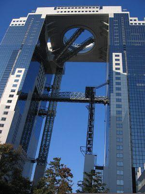 MY ARCHITECTURAL MOLESKINE®: HIROSHI HARA: UMEDA SKY BUILDING, OSAKA