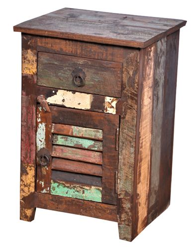 indian reclaimed wood furniture bedside table jangidartandcrafts  #bedside #nightstand #reclaimed #