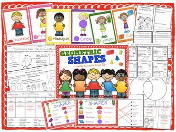 Are you teaching your students about two-dimensional and three-dimensional shapes? This product has many different activities to help your students practice and learn all about shapes.
