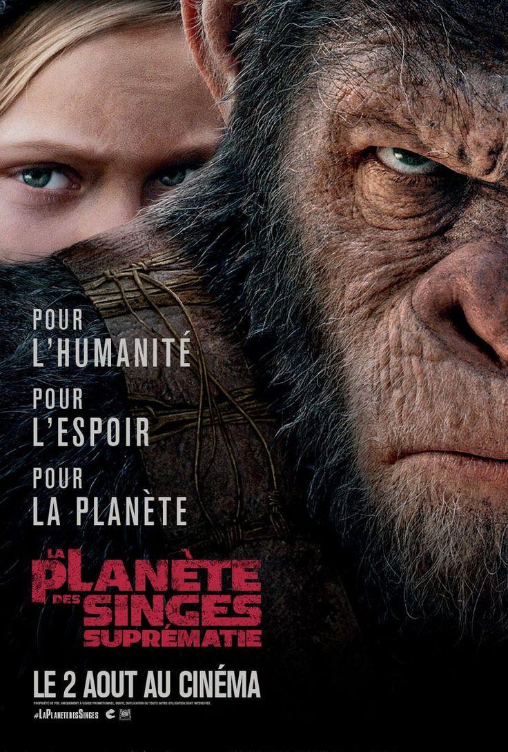 Sortie le 2 août 2017 : La Planète des Singes / Suprématie .