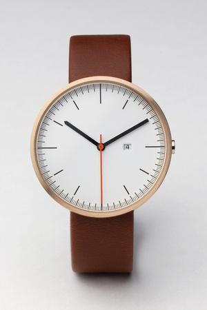 Rose Gold / Antique Brown LeatherWare 200, Uniform Wares, Style, 200 Series, Wrist Watches, Calendar Watches, Uniforms Ware, Rose Gold, Men Watches