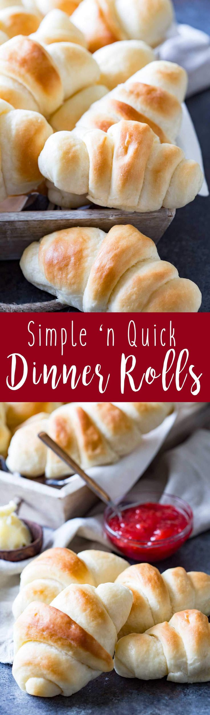 Simple and Quick Dinner Rolls
