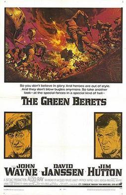 Green berets poster 1968.
