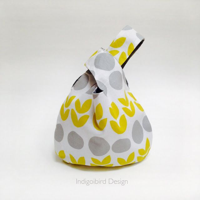 indigobird design: TUTORIAL : Reversible Knot Bag