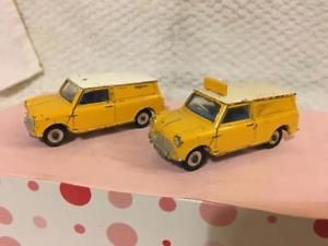 a 2 x aa mini vans dinky