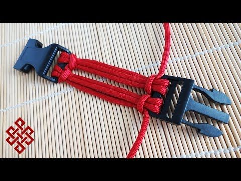 6 Strand Double Cow's Hitch Buckle Core Tutorial - YouTube