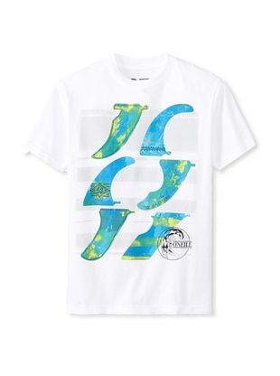 44% OFF O'Neill Boy's Finbox Tee (White)