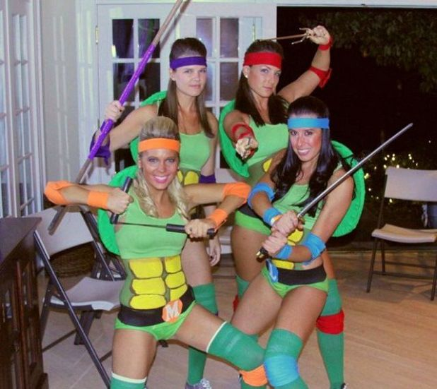 Teenage Muntant Ninja Girl Turtle.. Turtle Sexy Power! (TMNT)
