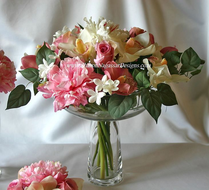 image detail for wedding centerpieces real touch flower natural touch flowers silk. Black Bedroom Furniture Sets. Home Design Ideas