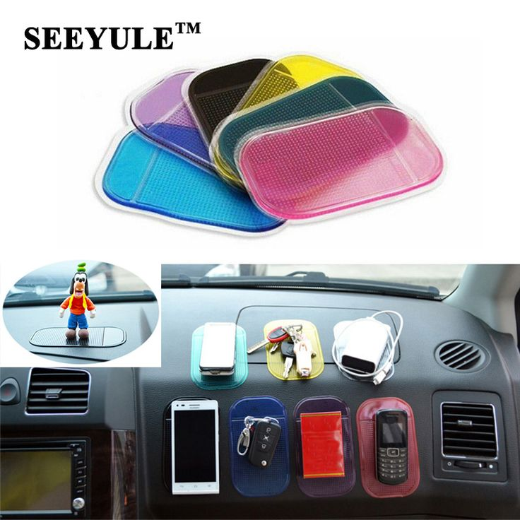 2pcs/lot SEEYULE Car Anti Slip Mat Dashboard Sticky Pad PVC for Non Slip Phone/mp3/mp4/GPS/Pad Car Accessories //Price: $1.99 & FREE Worldwide Shipping //     #accessories