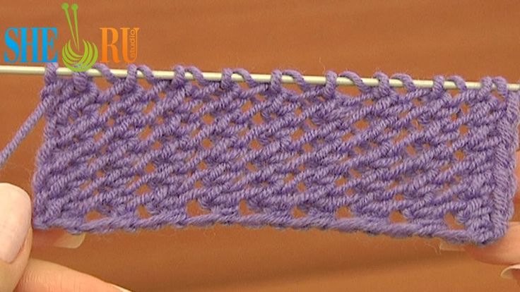 Easy to Knit Mesh Stitch Pattern Tutorial 18 Beginner Level Knitted Mesh