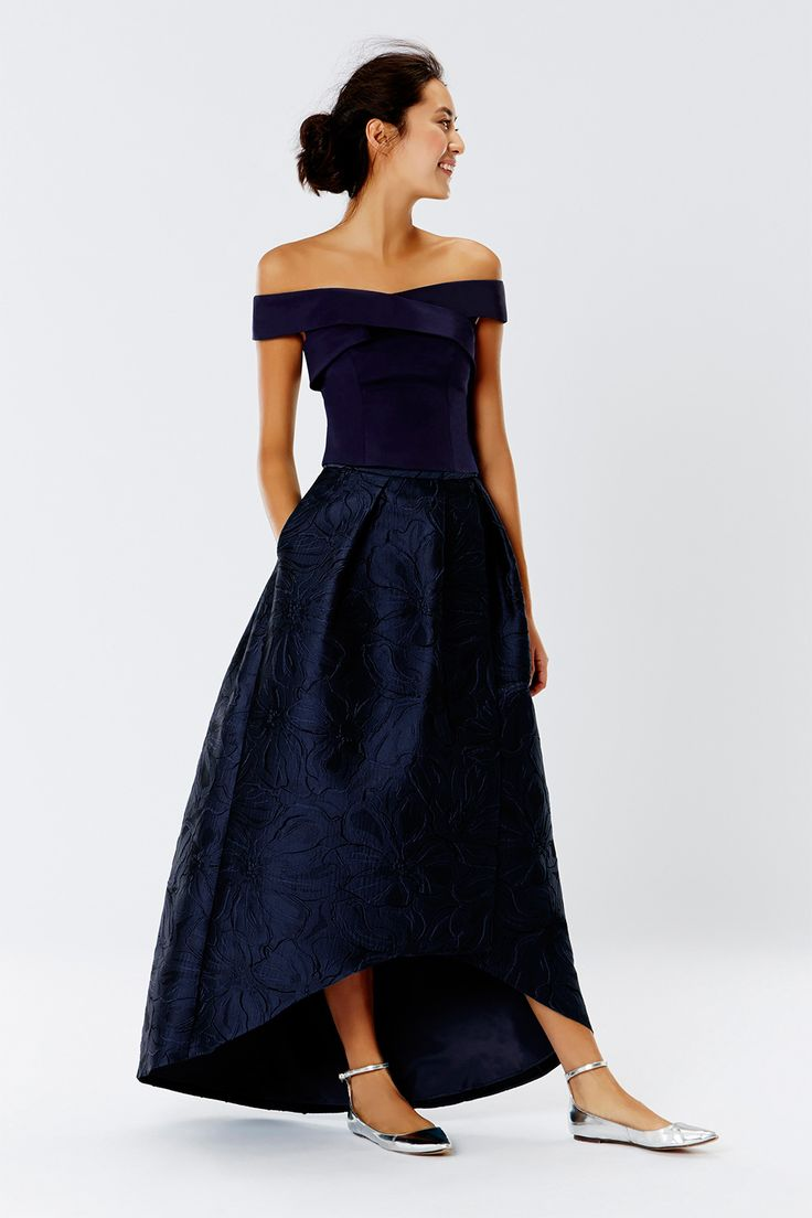 579 best bridesmaid dresses images on pinterest maxis leah jacquard hi low skirt in navy httpweddingheart affordable bridesmaid dressesbridesmaid dresses ukbride ombrellifo Images