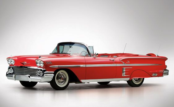 1958 Chevrolet Bel Air Impala Convertible | The John Staluppi Collection 2012 | RM Sotheby's