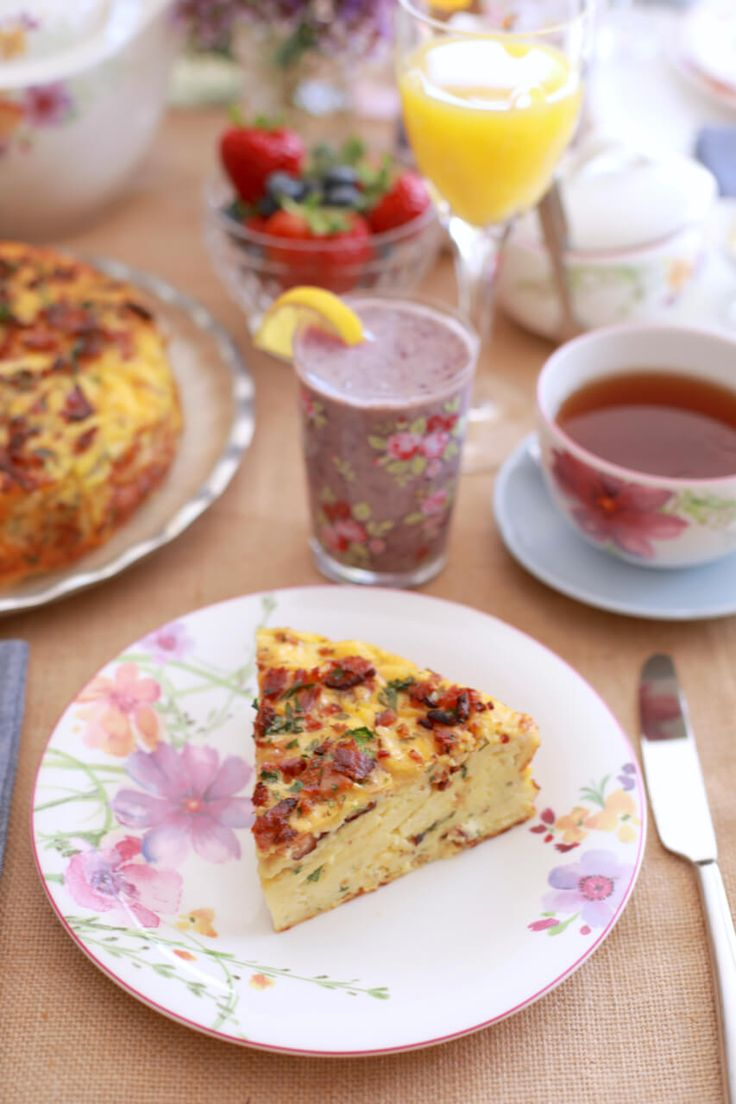 Bacon and Cheese Strata - This super delicious dish will have your guests coming back for more.