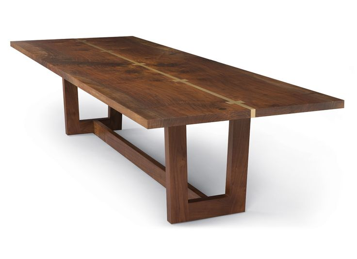 Good Dining Room Table Example: Join In Middle With Metal And Butterflies